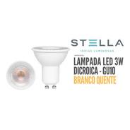Lâmpada Led Dicroica 3w Stella Gu10 Mr16 2700k - Sth8533/27