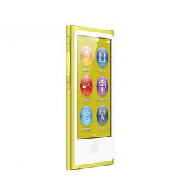 Ipod Nano 16gb Amarelo Tela 2,5 - Multi Touch, Rádio Fm