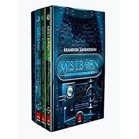 Box 2ª Era De Mistborn - Vol 1 - 2 E 3 + Caderno De Brinde