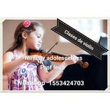 Clases De Violín Para Niños Y Adolescentes Zona Norte