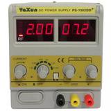 Fonte Variável Com Rf Para Celular Yaxun 1502dd+ 15v 2a 110v