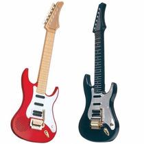 Guitarra Eletronica Infantil Cores Sortidas - 123 Dtc