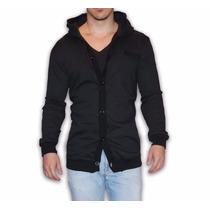 Sweater Con Gorro John Leopard