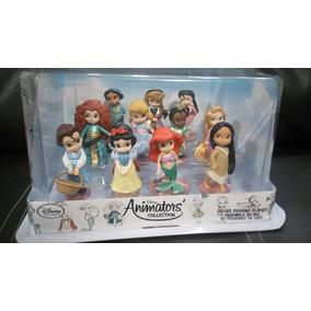 Mini Animator Princesas Set Deluxe Disney Store 11 Princesas