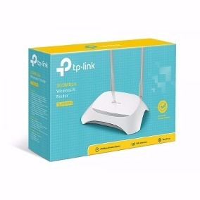 Roteador Wireless Tp-link Tl-wr840 300mbps - 2 Antenas 5 Dbi