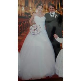 Vestido De Novia Hermoso, Briden, Talla 5-6, Costaba +18mil