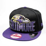 Bone New Era Aba Reta 950 Draft Nfl Baltimore Ravens