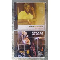 2 Cds - Dennis Brown - Bob Marley - Originales Sellados