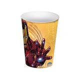 Copo Vingadores - Homem De Ferro 320ml - Plasútil