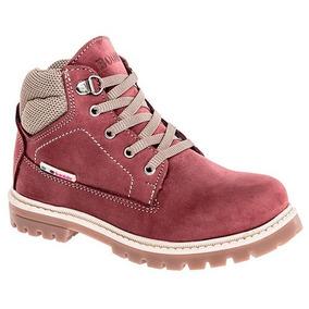 Zapatos Boddy Piel Botines 604-02 Rosa Niña Pv