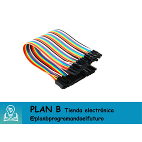 Cable Dupont (puente) Hembra-hembra 40pines/ 10cm