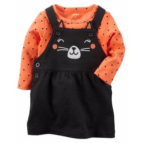 Disfraz Halloween Vestido Con Pañalero Carters