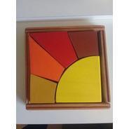 Rompecabeza Sol De Madera Puzzle Juguete Wadorf