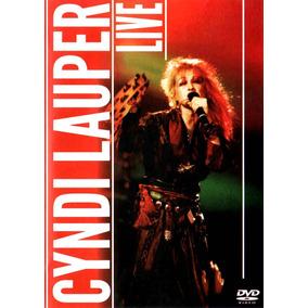 Dvd Cyndi Lauper = Ao Vivo Live Cindy Cindi Novo Lacrado!