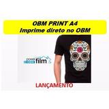 Obm Print A4 Transfer Subli. Tecido Claro E Escuro 10 Folhas