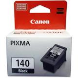 Tinta Canon 140 Genuino Sellado Original Cartucho Negro Pixm