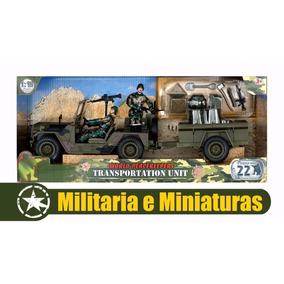 Jeep Com Reboque 1/18 - World Peacekeepers Power Team Elite