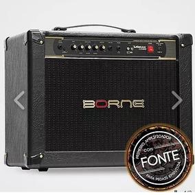 Amplificador Cabeçote Guitarra Borne Vorax 12100 Preto
