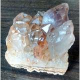 Cristal De Roca Amatista Cuarzo Geoda Misionera 178 Gramos