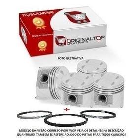 Jogo Pistoes 1mm +anel Motor Corsa Wind 1.0 8v. Gas. Efi 94/