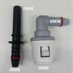 Conector Engate Rapido + Emenda Gasolina 8mm X 8mm N°36