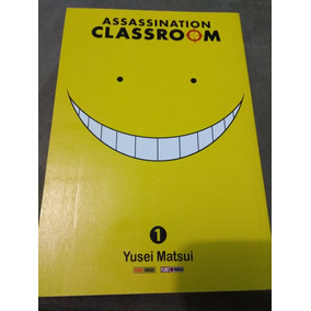 Mangá Volume 1 Assassination Classroom