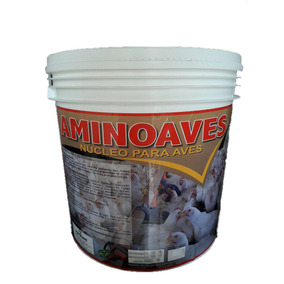 Aminoaves Núcleo Mineral Aves Posturas Poedeiras 5 Kg