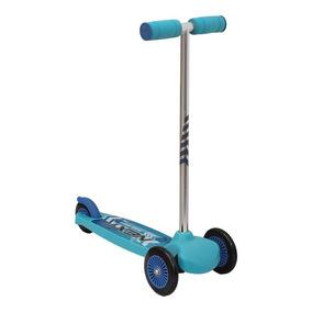 Patin Del Diablo Scooter Infantil Azul Envio Gratis