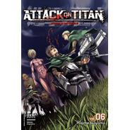 Manga, Kodansha, Attack On Titan Vol. 6. Ovni Press