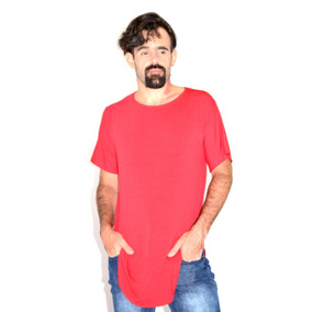 Kit 5 Camisetas Blusa Swag Longline Oversized Atacado
