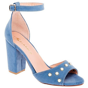 Zapatillas Clasben Para Dama Azul 75797 100% Originales