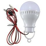 Foco Led 12v 280lm Portatil Solar Campaña Luz Lampara Pila