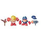 Playskool Friends Sr. Cara De Papa Marvel - Captain America