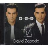 David Zepeda 1 + 1 = 1 Disco Cd