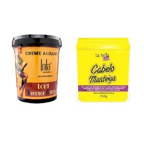Lola Creme Alisante Vintage Girl + Manteiga De Karitê