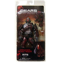 Gears Of War 2 Serie Figura 5 Locust Granadero Bestia Jinet