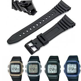 6a1059e9f63 Adaptador Pulseira Para Casio W 96 - Relógios no Mercado Livre Brasil