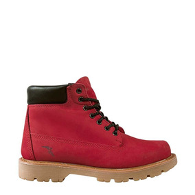 Bota Hiker Niño/junior Goodyear Color Rojo Piel Cb739 A