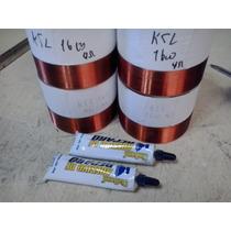 Kit 4 Bobinas P Ksl 1600 2 Ou 4 Ou 8 Ohms