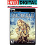 Final Fantasy Xii (12) - Original Ps2 P/ Pc - Envio Digital