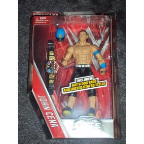Figura Wwe Mattel John Cena Elite Serie 40 Gorra Y Cinturon