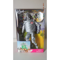 Barbie Ken Tin Man Homem Lata Magico Oz Wizard Of Oz Novo