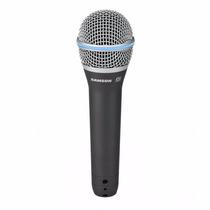 Microfone Profissional Para Vocal Samson Q8