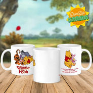 Taza Winnie Pooh, Ceramica Importada. Buendiakarma