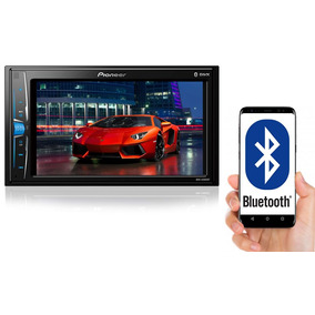 Multimídia 2din Pioneer Mvh-a208vbt 6,2 Bluetooth Usb