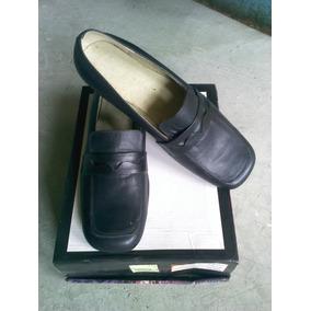 Zapatos Casuales Dama Cerrados Piel Oficina Alta Calidad.