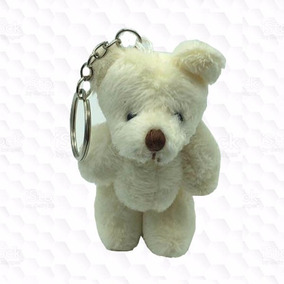 50 Chaveiros Lembrancinhas Mini Ursinhos De Pelúcia - 10cm