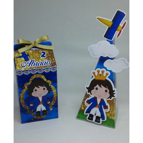 Kit 20 Itens Pequeno Principe Personalizados Milk/ Cone