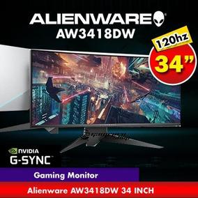 Monitor Alienware Led Curvo 34¨ Aw3418dw G-sync A Pedido