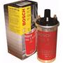Bobina Universal Bosch Roja Y Cromo - Encendido Electronico